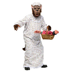 Big Bad Granny Wolf Adult Costume 100-213699