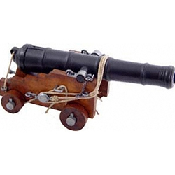 British Naval Cannon 18th Century